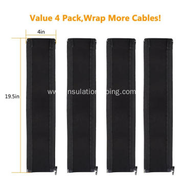 High Quality Neoprene Management Zipper Cable Sleeve