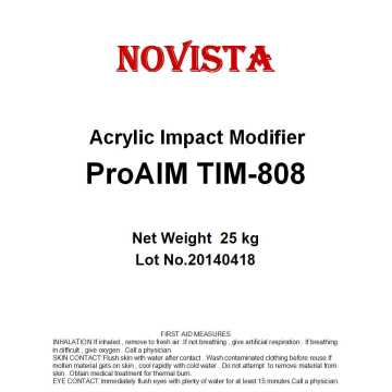 Acrylic impact modifiers
