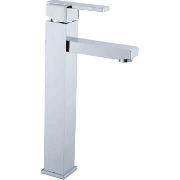 Square Type Above Counter Basin Mixer