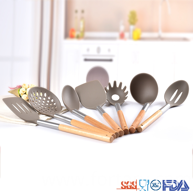 Kitchen Utensil Set Wood