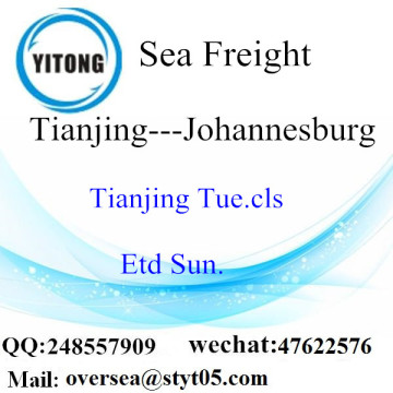 Tianjing Port LCL Consolidation To Johannesburg