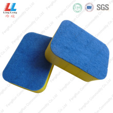 Personlized Products for Green Sponge Scouring Pad Heavy Duty Scouring Pad kitchen cleaning sponge supply to Poland Manufacturer