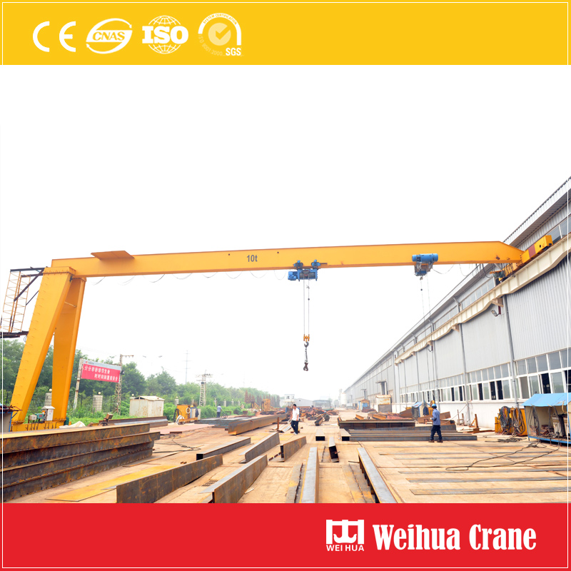 Semi Gantry Crane Single Girder