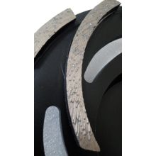 OEM for Abrasive Wheels High Efficiency Cyclone Diamond Grinding Disc supply to Italy Factories