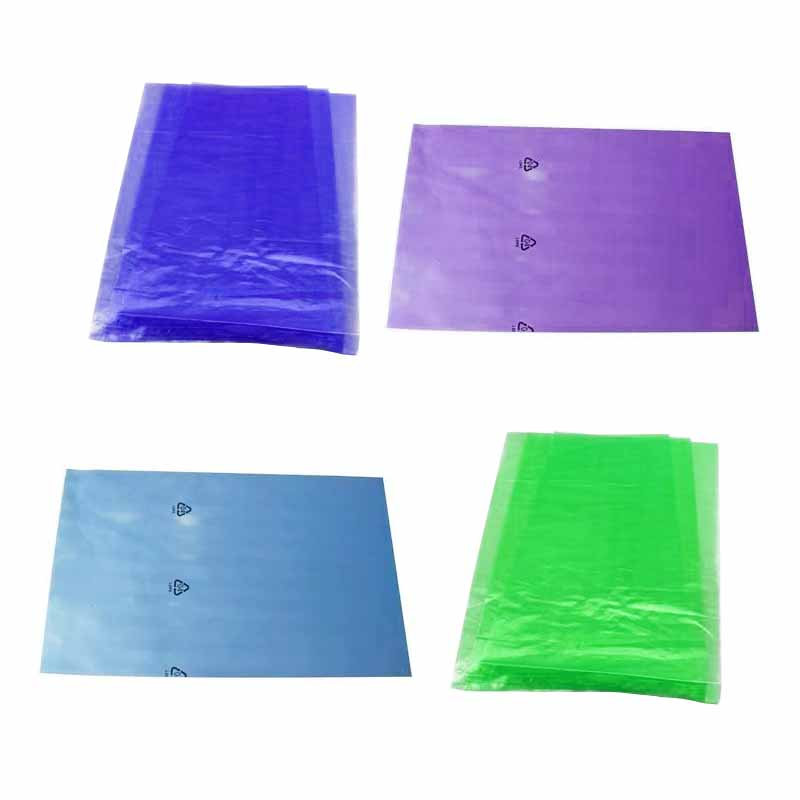 environmental protection color printing pe packaging plastic bags