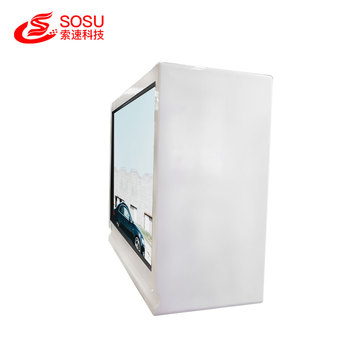 Vitrine lcd tactile capacitive transparente de 32 pouces