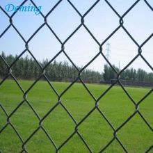 6 Foot Galvanized Chain Link Diamond Fence