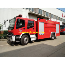 ISUZU 5000L Pump Fire Fighting Trucks