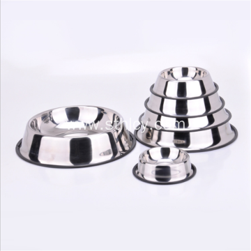 Stainless Steel Pet Bowl Dog Bowl