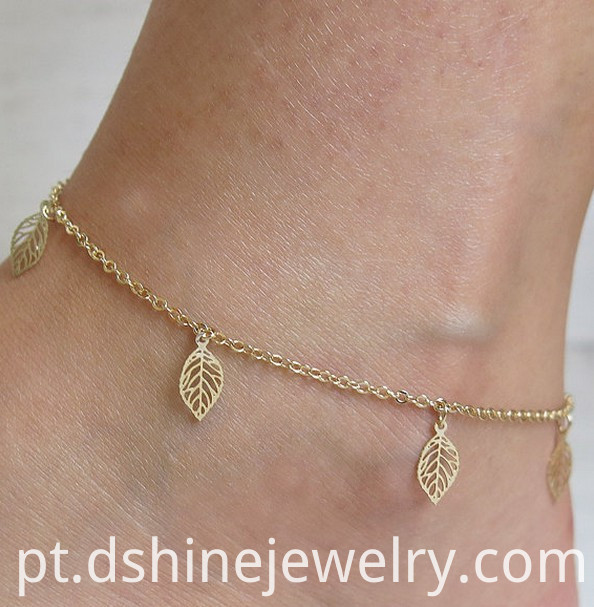 Summer Footlet Gold Ankle Bracelets