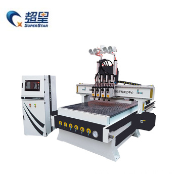 4-Spindle Woodworking Machine CNC Wood Router