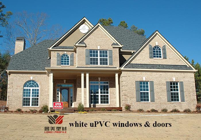 white PVC windows & doors