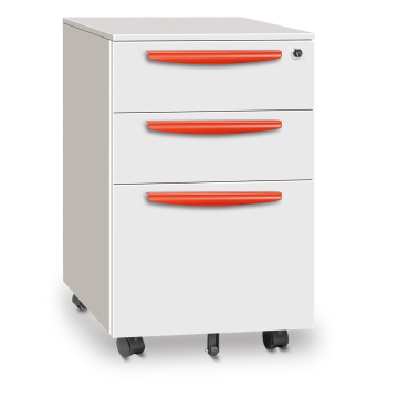 3 drawer Mobile pedestal cabinet with lock