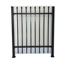 zinc fence iron steel balcony fence with powder coated
