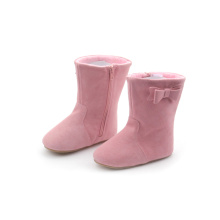 ODM for Baby Boots Moccasins Winter Leather Kids Boots for Boys and Girls supply to Italy Factory