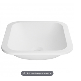 bathroom matte stone solid surface basin and sink