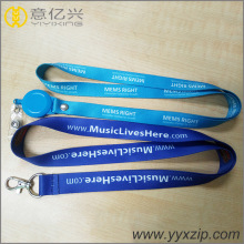 custom detachable buckle lanyards with print logo
