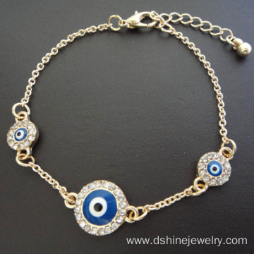 Fancy Chain Evil Eye Bracelet For Girls Blue Eye Bracelet