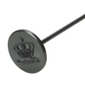 round crown bbq branding iron