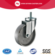 Threaded Stem Swivel Cast Iron Medium Duty Castor