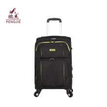Fashion Canvas Cheap Travel Case Wheeled Fabric Luggage
