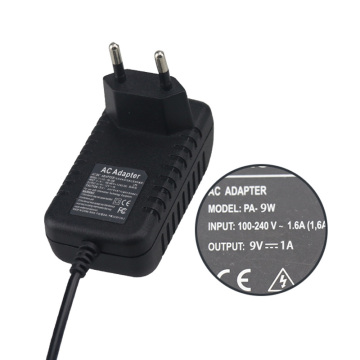 LED Light 9V 1A power adapter for electronic