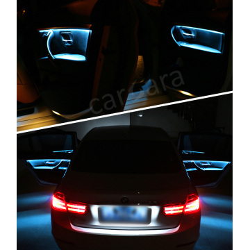 Interior LED decorative atmosphere trim lights for BMW