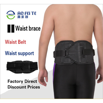 Body-building support with body shape and slimming waistband