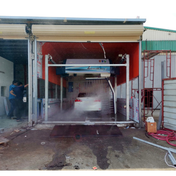 Automatic non touch car wash machine