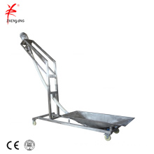 Flexible cement auger conveyor system