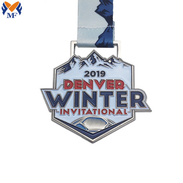 Most silver denver invitational medals winter