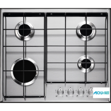 Gas Cooker With Wok Burner 4 Burner Hob