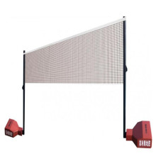 Badminton court net post