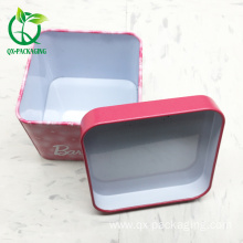 Good Quality for Tin Box, Tin Box For Candy, Tin Box For Cosmetic from China Supplier custom tinplate luxuary watch box export to Spain Exporter