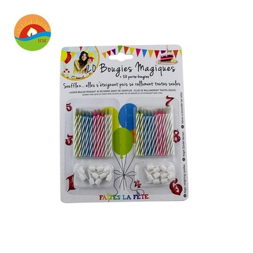 Magic color flame Birthday candle