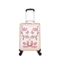 Customized 20'',24'',28'' PU leather trolley luggage