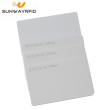 China Gold Supplier for RFID Membership Card TK4100 rfid Card Smart Cards PVC Blank supply to North Korea Factories