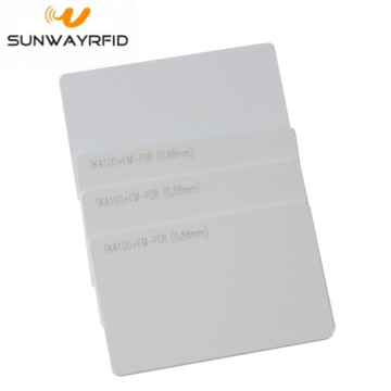 125khz TK4100 rfid Card Smart Cards PVC Blank