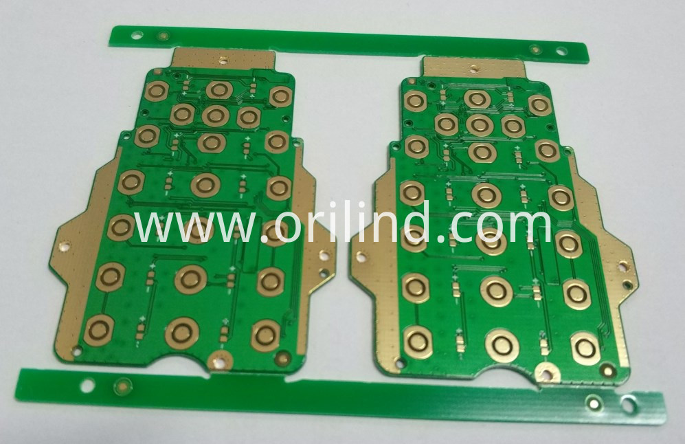 Flash gold circuit board