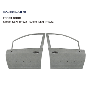 Steel Body Autoparts Honda 2005-2008 CITY FRONT DOOR
