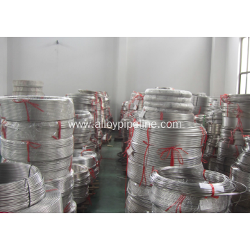 Welded Single Stainless Steel Coiled Tubing TP304 Seamless