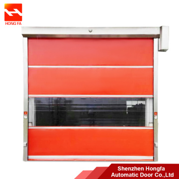Malaysia Komersial Soft PVC High Speed ​​Door