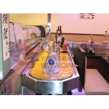Hot Sale for Rotary Sushi Conveyor Belt Sunshine Conveyor System Sushi Stainless Belt supply to India Exporter