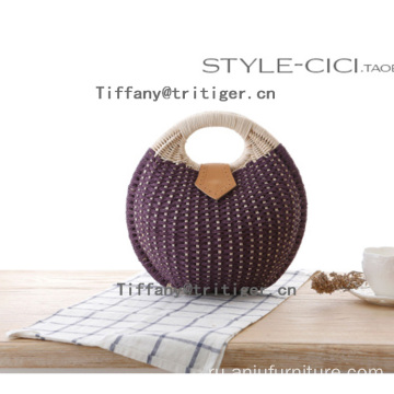 Holiday straw bag women rattan beach bags