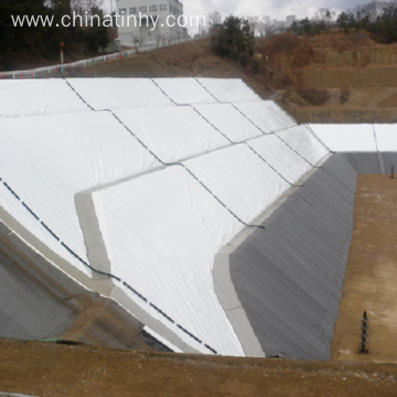 100% polyester non-woven long fiber permeable geotextile
