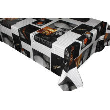 Vinyl Table Cover with Non-woven Backing