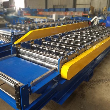 Roof Sheet Panel Glazed Tile Roll Forming Machine