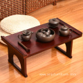 Japanese Paulownia Tea Table Asian Low Wooden Furniture Tatami Style Vintage solid wood Low Foldable Table