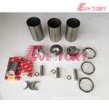 excavator 3TNV82A engine gasket bearing piston ring liner