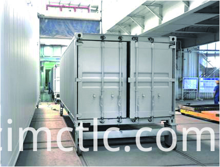 Painting Line for ISO Standard Generator Container